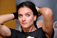 Yelena Isinbaeva<br /> Roma 9/7/2009 <br /> Athletic Golden Gala 2009 Press Conference<br /> Foto Andrea Staccioli Insidefoto