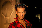 SEAN BROSNAN  AT  NICK NOLTES PROPERTY IN MALIBU CALIFORNIA 8.12.08.PIX STEVE BUTLER