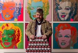 Entertainer Phill Jupitus launches the Andy Warhol and Eduardo Paolozzi | I want to be a machine, a major NGS exhibition which explores the mutual fascination for automation, machines and mechanical processes of two of Pop Art's giants, Andy Warhol (1928-1987) and Eduardo Paolozzi (1924-2005).<br /> <br /> Running from 17 November 2018 to 2 June 2019, Andy Warhol and Eduardo Paolozzi | I Want to be a Machine will consist of two parallel displays devoted to each artist, examining the development of their work from the 1940s onwards. Highlights will include striking images like Warhol's famous multi-coloured prints of Marilyn Monroe and Paolozzi's dazzling, kaleidoscopic prints of the '60s and '70s.