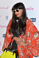 Image ©Licensed to i-Images Picture Agency. 10/06/2014.<br /> <br /> Pictured is Jameela Jamil arriving at the party.<br /> <br /> Superdrug 50th Anniversary Party at The Bankside Vaults, Southbank, London, UK.<br /> <br /> Tuesday 10th of June 2014<br /> Picture by Ben Stevens / i-Images