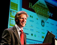 NVG-congres 2006 te Zeist. NVG-direkteur Lodewijk Klootwijk