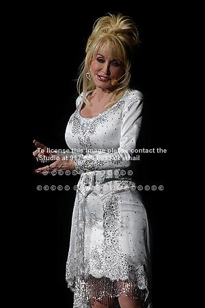 Dolly Parton performing at Radio City Music Hall on May 1, 2008.