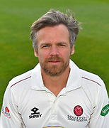 Head shot of James Hildreth of Somerset during the 2019 media day at Somerset County Cricket Club at the Cooper Associates County Ground, Taunton, United Kingdom on 2 April 2019.
