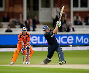 Luke Wright bats during the opening ICC World Twenty20 Cup match between England and Netherlands at Lord's. Photo © Graham Morris (Tel: +44(0)20 8969 4192 Email: sales@cricketpix.com)