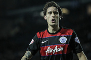 Gabriele Angella (QPR) during the Sky Bet Championship match between Sheffield Wednesday and Queens Park Rangers at Hillsborough, Sheffield, England on 23 February 2016. Photo by Mark P Doherty.