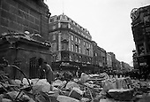 1966-08/03 Nelson's Pillar Blown Up