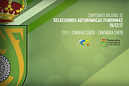15-12-2017 Seleccion Canaria vs Seleccion Cantabra sub 18