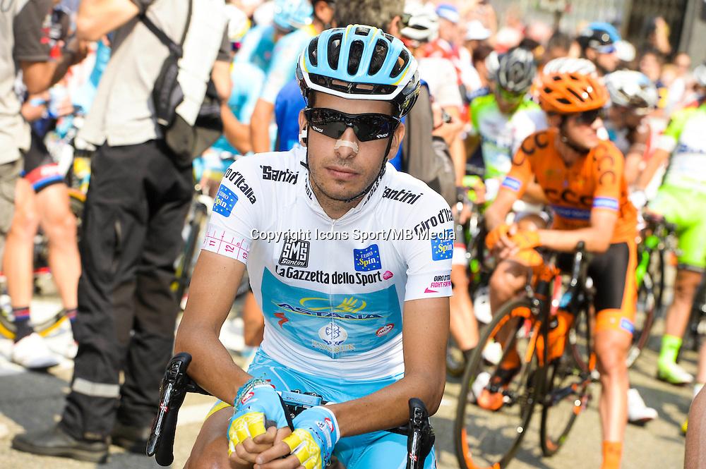 Fabio Aru - Astana - 29.05.2015 - Tour d'Italie - Etape 19 :  Gravellona Toce / Cervinia<br />Photo : Sirotti / Icon Sport