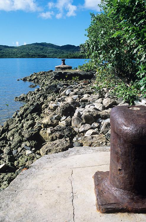 landing O`keefe island, Yap, Wa`ab, Waqab, Federated States of Micronesia, islands in the Caroline Islands