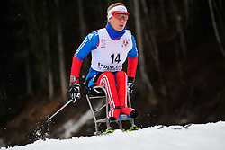 KONOVALOVA Svetlana, RUS at the 2014 IPC Nordic Skiing World Cup Finals - Long Distance