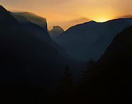 Sunrise In Yosemite Valley, Yosemite National Park, California