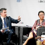 04 June 2015 - Belgium - Brussels - European Development Days - EDD - Migration - Migration is development - Making migration a driver for development - Paul Hackett<br /> Journalist, Euronews - Imelda Nicolas<br /> Chairperson, Commission on Filipinos Overseas (CFO) © European Union