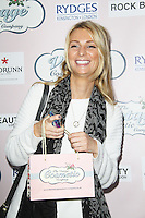 Olivia Newman-Young, The Vintage Cosmetic Company birthday party, Rydges Kensington Plaza Hotel, London UK, 30 May 2013, (Photo by Richard Goldschmidt)
