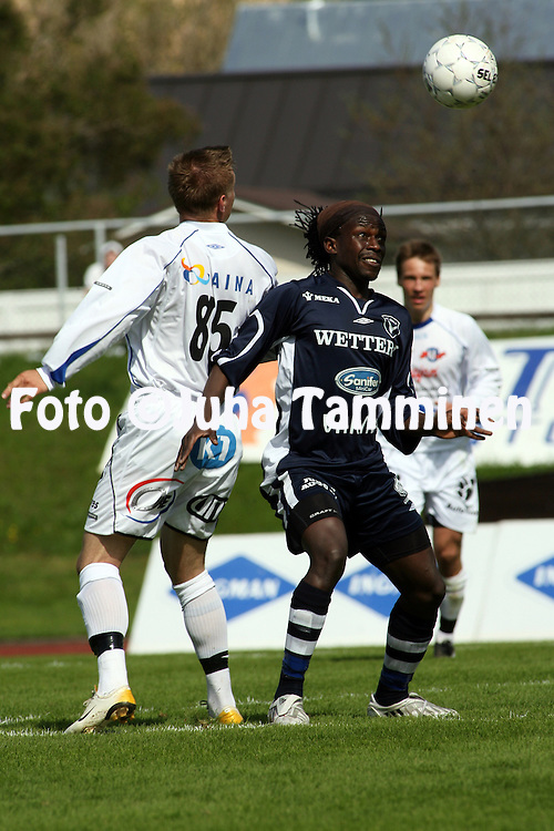 10.05.2008, Kauriala, H?meenlinna, Finland..Ykk?nen 2008.FC H?meenlinna - AC Oulu.Dominic Yobe - AC Oulu.©Juha Tamminen.....ARK:k
