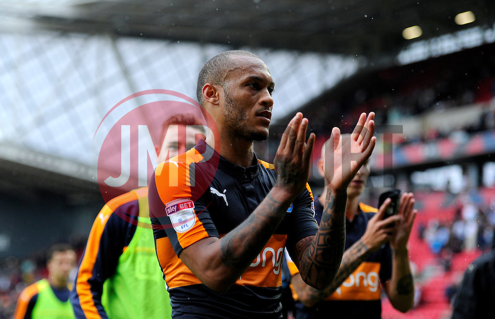 Yoan Gouffran of Newcastle United  - Mandatory by-line: Joe Meredith/JMP - 20/08/2016 - FOOTBALL - Ashton Gate - Bristol, England - Bristol City v Newcastle United - Sky Bet Championship