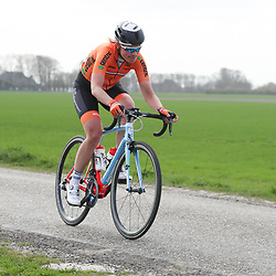 05-04-2017: Wielrennen: Healthy Ageing Tour: Grijpskerk<br />GRIJPSKERK (NED) wielrennen  <br />Roxane Kneteman