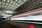 Image of a Washington, D.C. metro train.