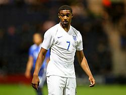 Jordon Ibe of England U21  - Mandatory byline: Matt McNulty/JMP - 07966386802 - 03/09/2015 - FOOTBALL - Deepdale Stadium -Preston,England - England U21 v USA U23 - U21 International