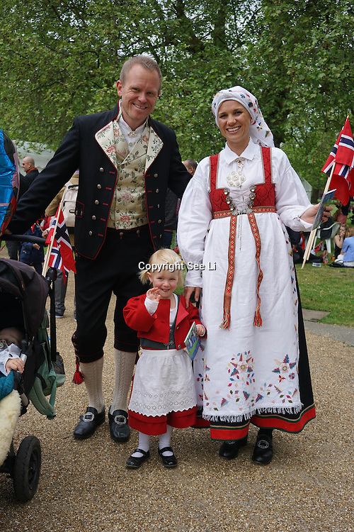 London Celebrates Norway Day ,Minister of Defence  of Norway ,Ine Eriksen Søreide,Ambassador Mona Juul ,Southwark Park ,Norwegian