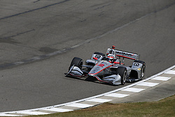 April 23, 2018 - Birmingham, Alabama, United States of America - WILL POWER (12) of Australia battles for position through the turns during the Honda Grand Prix of Alabama at Barber Motorsports Park in Birmingham, Alabama. (Credit Image: © Justin R. Noe Asp Inc/ASP via ZUMA Wire)