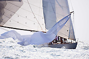 Gleam sailing in the Museum of Yachting Classic Yacht Regatta.