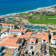 Aerial view of the Secrets Puerto Los Cabos. San Jose del cabo, Mexico.