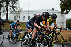 Tiffany Cromwell (AUS) with two laps to go at Ladies Tour of Norway 2018 Stage 2, a 127.7 km road race from Fredrikstad to Sarpsborg, Norway on August 18, 2018. Photo by Sean Robinson/velofocus.com