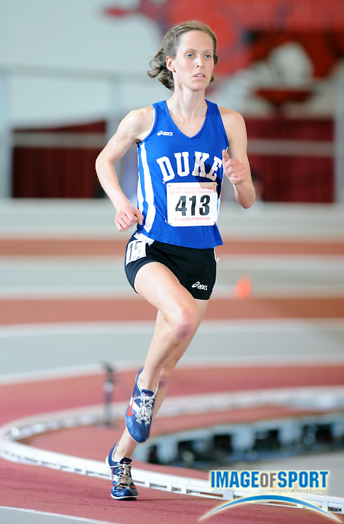 Mar 14, 2008; Fayetteville, AR, USA; Maddie McKeever of Duke was third in the women's 5,000m in 15:58.18 in the NCAA indoor track and field championships at the Randal Tyson Center.