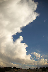 beautiful cloud formation in Santa Fe, New Mexico