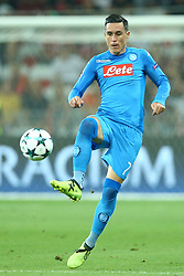 August 22, 2017 - Nice, France - Jose Maria Callejon of Napoli  during the UEFA Champions League Qualifying Play-Offs round, second leg match, between OGC Nice and SSC Napoli at Allianz Riviera Stadium on August 22, 2017 in Nice, France. (Credit Image: © Matteo Ciambelli/NurPhoto via ZUMA Press)