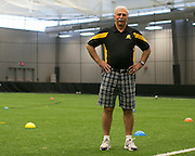 Nelson Cupello, head soccer coach at Monroe Community College, on Thursday, July 9, 2015.