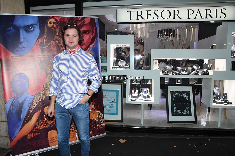 John Fairlough is a actor arrives at Tresor Paris In2ruders - launch at Tresor Paris, 7 Greville Street, Hatton Garden, London, UK 13th September 2018.