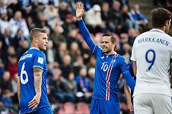 September 2, 2017 - Tampere, Finland - Iceland's Gylfi Sigurdsson (10) during the FIFA World Cup 2018 Group I football qualification match between Finland and Iceland in Tampere, Finland, on September 2, 2017. (Credit Image: © Antti Yrjonen/NurPhoto via ZUMA Press)