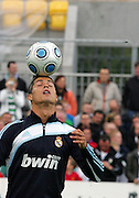 Cristiano Ronaldo of Real Madrid in action before the Pre Season Friendly between Shamrock Rovers and Real Madrid at Tallaght Stadium on July 20, 2009 in Dublin, Ireland