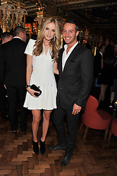 LUKE & KATIA WAITE at the 50th birthday party for Patrick Cox held at the Café Royal Hotel, 68 Regent Street, London on 15th March 2013.