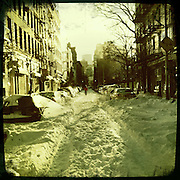 Snow, Thompson Street