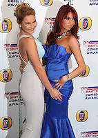 The Only Way Is Essex; Sam Faiers; Amy Childs British Comedy Awards, O2 Arena, London, UK, 22 January 2011: Contact: Ian@Piqtured.com +44(0)791 626 2580 (Picture by Richard Goldschmidt)