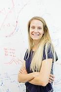 Petra Persson på sitt kontor på Stanford University, Kalifornien.