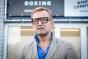 Prins Bernhard van Oranje jr. bij TYR Boxing om samen met bokskampioene Marichelle de Jong de officiële opening te verrichten.<br /> <br /> Op de foto:  Prins Bernhard van Oranje jr. Bernhard van Oranje-Nassau, Van Vollenhoven