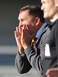Martin Allen, Manager Barnet FC, Barnet v Eastleigh, Vanarama Conference, Saturday 4th October 2014