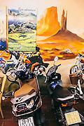 Viet Nam Motorcycle Tour, Ma May Street, Old Quarter. Hanoi, Vietnam