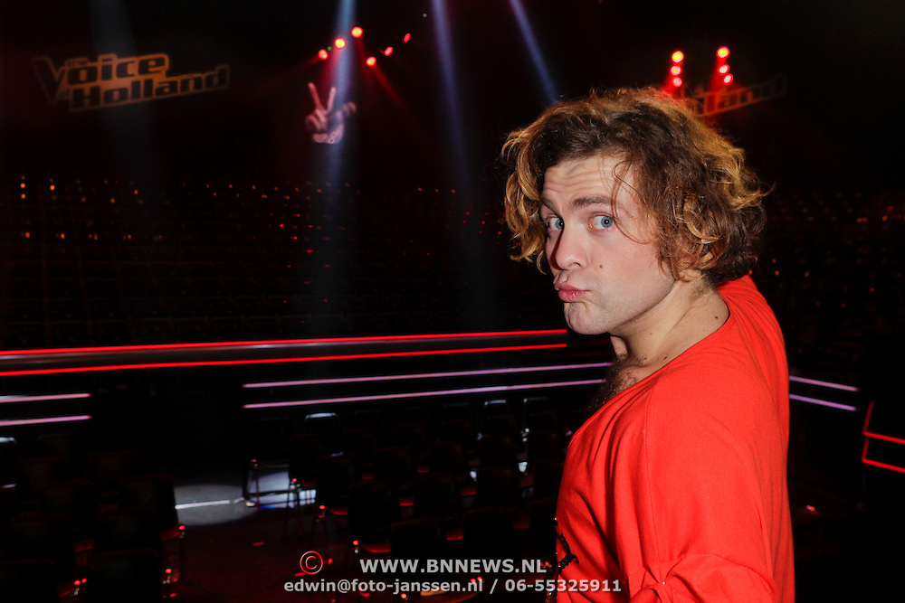 NLD/Hilversum/20120120 - Finale the Voice of Holland 2012, Paul Turner