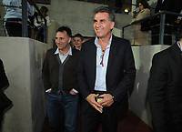 """20090213: CARNAXIDE, PORTUGAL - Manchester United Reserves coach Ole Gunnar Solskjaer visits the Carlos Queiroz (Portuguese national team coach and former assistant coach of Manchester United) Football Academy, named """"Football By Carlos Queiroz"""". The Norwegian former player and UNICEF Ambassador will scout young players training at the academy. In picture: Carlos Queiroz. PHOTO: Alvaro Isidoro/CITYFILES"""