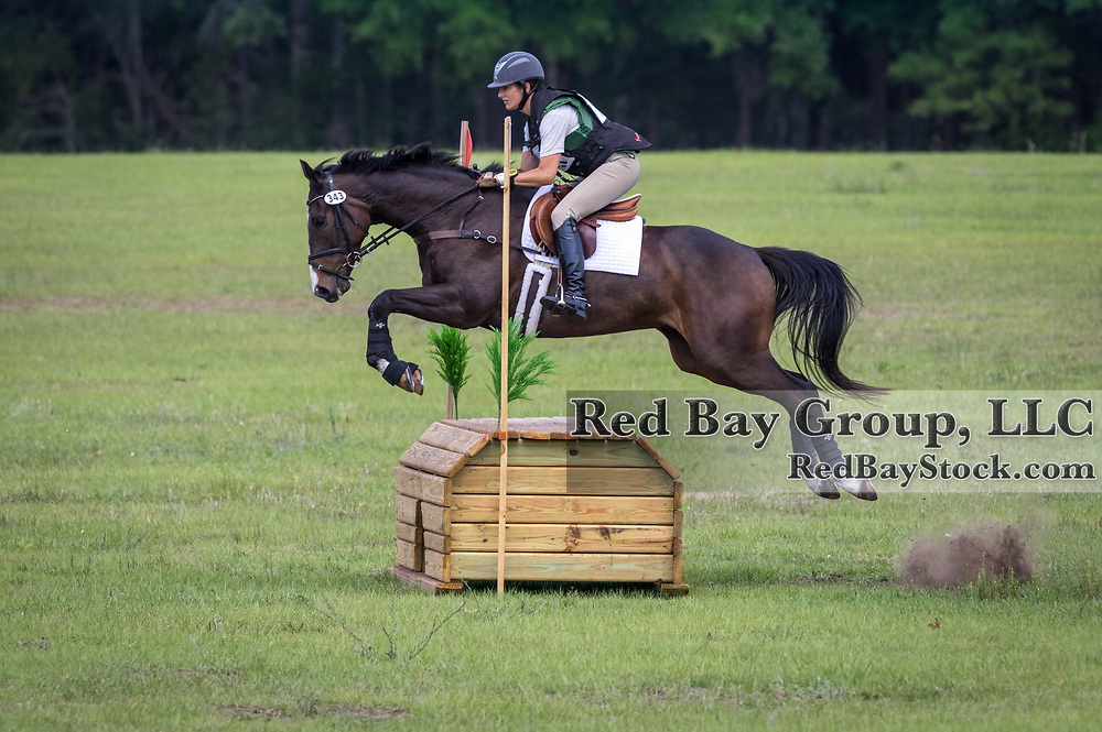 Jessica Kiener and High Flyer at the Ocala International in Ocala, Florida.