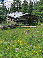 This cabin was used by the miners that worked the Red Mask Mine.