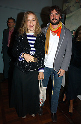 BAY GARNETT and TOM CRAIG at a party to celebrate the publication of 'The year of Eating Dangerously' by Tom Parker Bowles held at Kensington Place, 201 Kensington Church Street, London on 12th october 2006.<br />