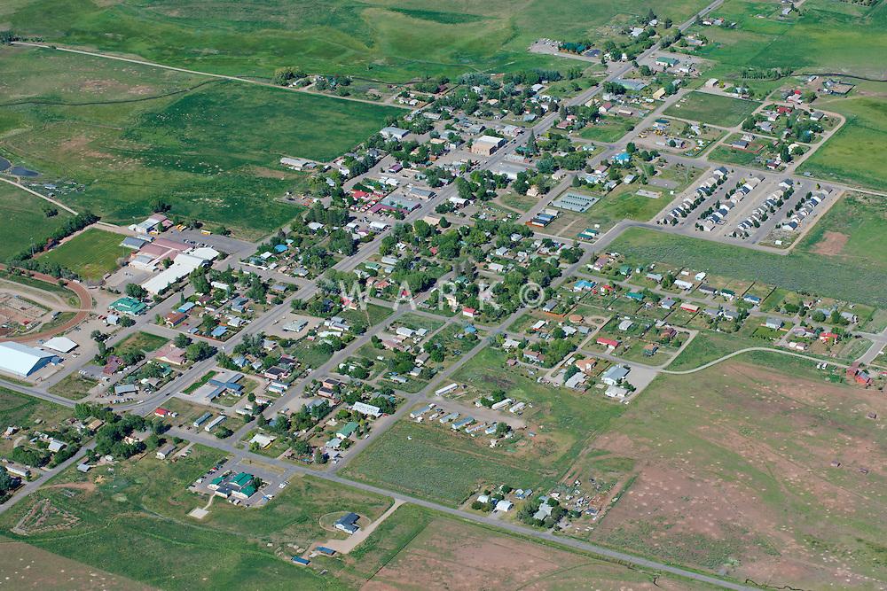 Aerial of Norwood, Colorado.  June 2013   88605