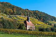 Weinbergkirche zum Heiligen Geist, Weinberge, Pillnitz, Sächsische Schweiz, Elbsandsteingebirge, Sachsen, Deutschland | vineyard Church, vineyards, Pillnitz, Saxon Switzerland, Saxony, Germany