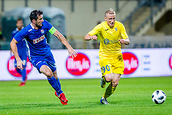 Zeni Husmani of NK Domzale during 2nd leg football match between NK Domzale and NK Siroki Brijeg in 1st Qualifying round of UEFA Europa League, on July 19, 2018 in Domzale Sports Park, Domzale, Slovenia. Photo by Ziga Zupan / Sportida