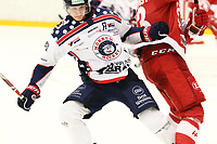 2018-11-14 | Ljungby, Sweden: during the game between Troja Ljungby and Mörrums GoIS at Ljungby Arena ( Photo by: Fredrik Sten | Swe Press Photo )<br /> <br /> Keywords: Icehockey, Ljungby, HockeyEttan, Troja Ljungby, Mörrums GoIS, Ljungby Arena div1, division, troja, ljungby, mörrum, gois,